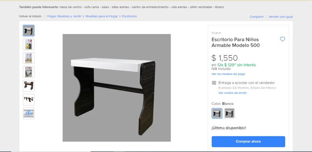 Comprar muebles en linea