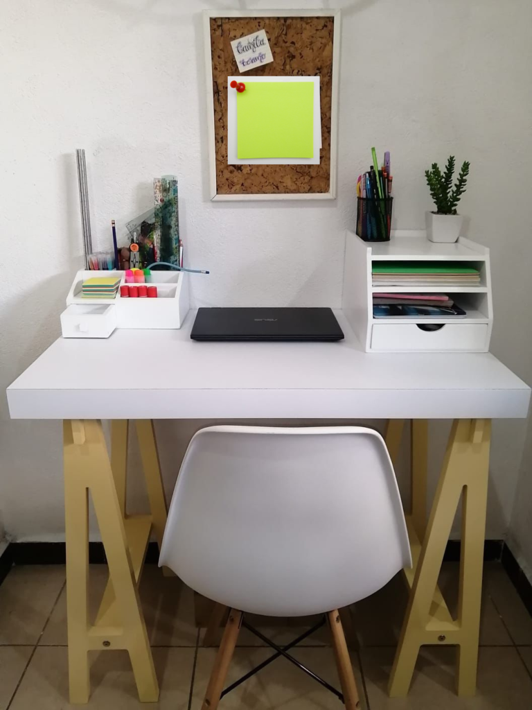 Idea para organizar tu escritorio